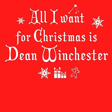 Dean Winchester Christmas Supernatural by theSarahr