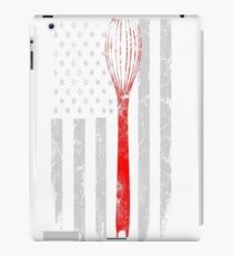 Baker - Awesome flag t-shirt for american baker iPad Case/Skin