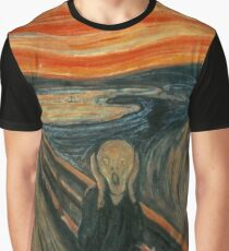 Edvard Munch - The Scream Graphic T-Shirt