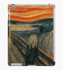 Edvard Munch - The Scream iPad Case/Skin
