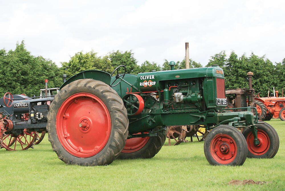 Rare old Tractor by BizziLizzy