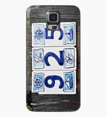 Nautical Numbers Case/Skin for Samsung Galaxy