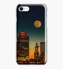 Boston Pink Moon  iPhone Case/Skin