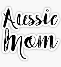 Aussie Mom Sticker