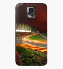 Spa Francorchamps at night Case/Skin for Samsung Galaxy