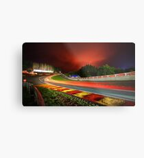 Spa Francorchamps at night Metal Print