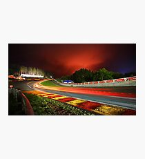 Spa Francorchamps at night Photographic Print
