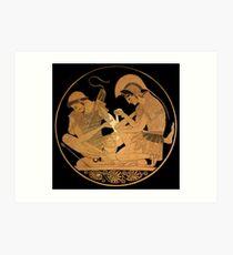 Lámina artística Aquiles venda el brazo de Patroclus