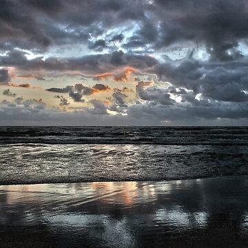 sunset at the beach von Mows