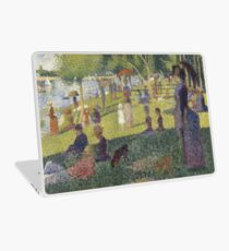 Georges Seurat's A Sunday Afternoon on the Island of La Grande Jatte Laptop Skin