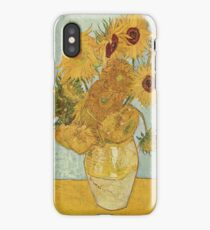 Vincent van Gogh's Sunflowers iPhone Case/Skin