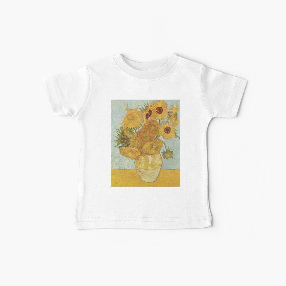 Vincent van Gogh's Sunflowers Baby T-Shirt