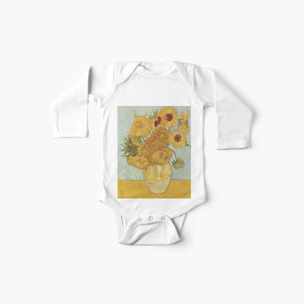 Vincent van Goghs Sonnenblumen Baby Body