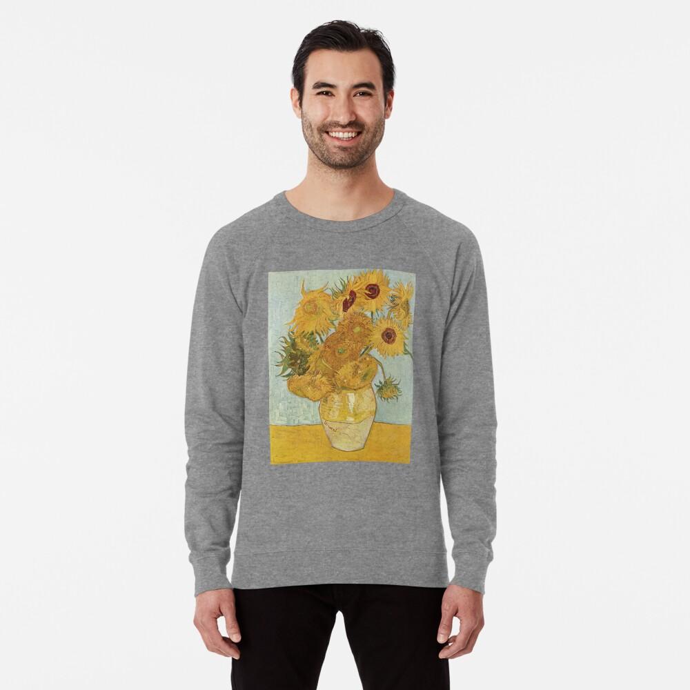 Vincent van Gogh's Sunflowers Lightweight Sweatshirt