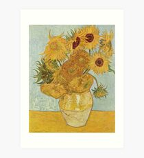 Vincent van Gogh's Sunflowers Art Print