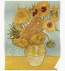 Vincent van Goghs Sonnenblumen Poster