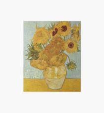 Vincent van Gogh's Sunflowers Art Board