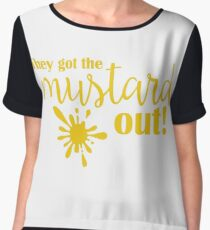 Buffy - They got the mustard out Chiffon Top