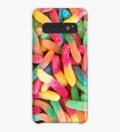 Gummy Worms Case/Skin for Samsung Galaxy