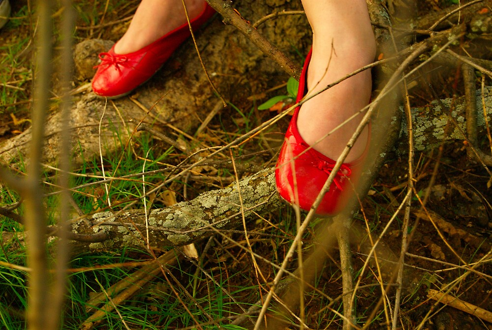 red shoes by Stefan Chirila