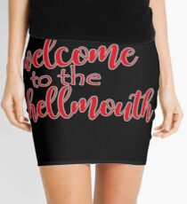 Buffy - Welcome to the hellmouth Mini Skirt