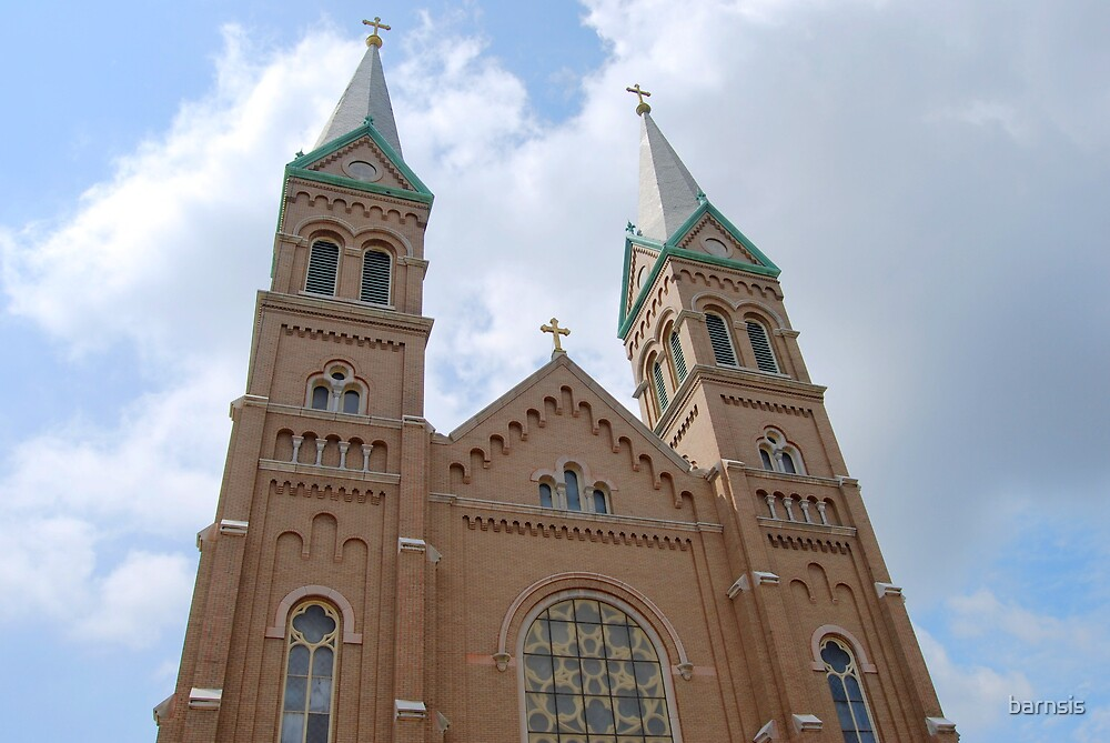 Cathedral of Saint Louis by barnsis
