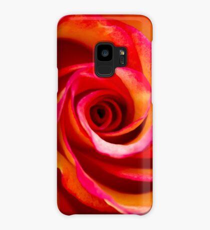 Rosey Swirl Case/Skin for Samsung Galaxy