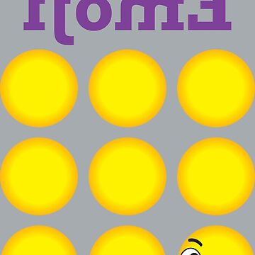 Expressive Emoji - Back view by MHawkinsArt