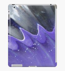 Schwarz blaues Wellenspiel iPad Case/Skin