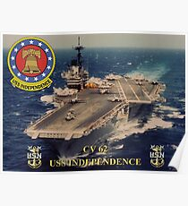 CV-62 USS Independence Poster