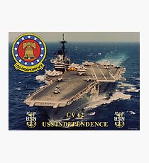 CV-62 USS Independence Photographic Print