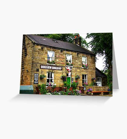 The Board Inn at Lealholme N.Yorks Greeting Card