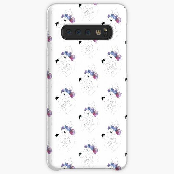 Space Dog German Shephard  Samsung Galaxy Snap Case