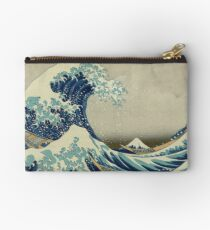 Vintage poster - The Great Wave Off Kanagawa Studio Pouch