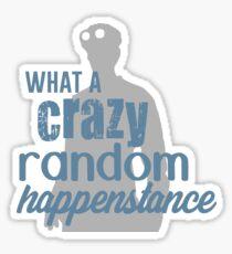 Dr. Horrible - Crazy Random Happenstance Sticker