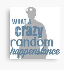 Dr. Horrible - Crazy Random Happenstance Canvas Print