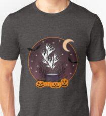 Halloween Ghosts, Pumpkins, and Bats Unisex T-Shirt