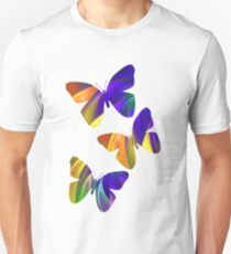 Colour Swing, fratal abstract T-Shirt