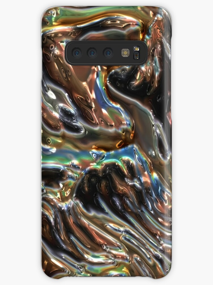 Iridescent Rainbow Crystals Samsung S10 Case
