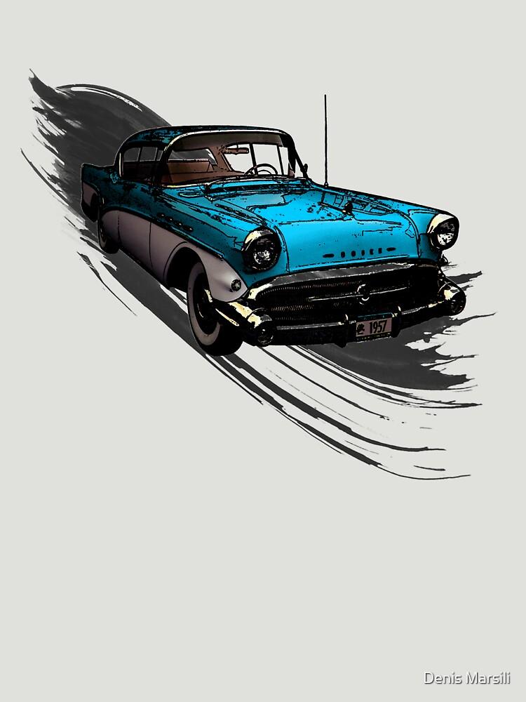 Car Retro Vintage Design by ddtk