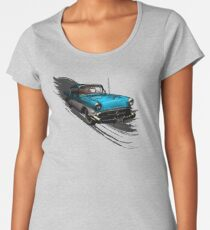 Car Retro Vintage Design Women's Premium T-Shirt