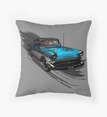 Car Retro Vintage Design Throw Pillow