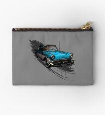 Car Retro Vintage Design Studio Pouch