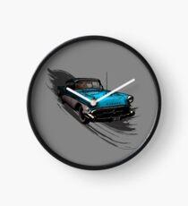 Car Retro Vintage Design Clock