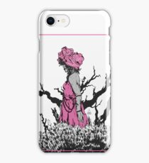 wrapped lady iPhone Case/Skin