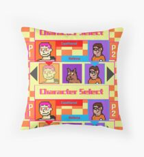 Coolfriends Character Select Throw Pillow