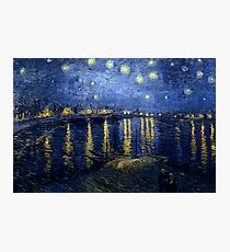 Vincent van Gogh - Starry Night Over the Rhone Photographic Print