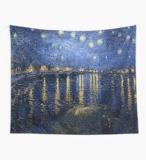 Tela decorativa Vincent van Gogh - Noche estrellada sobre el Ródano