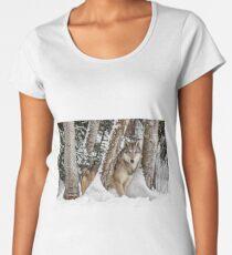 Watcher In The Woods Women's Premium T-Shirt