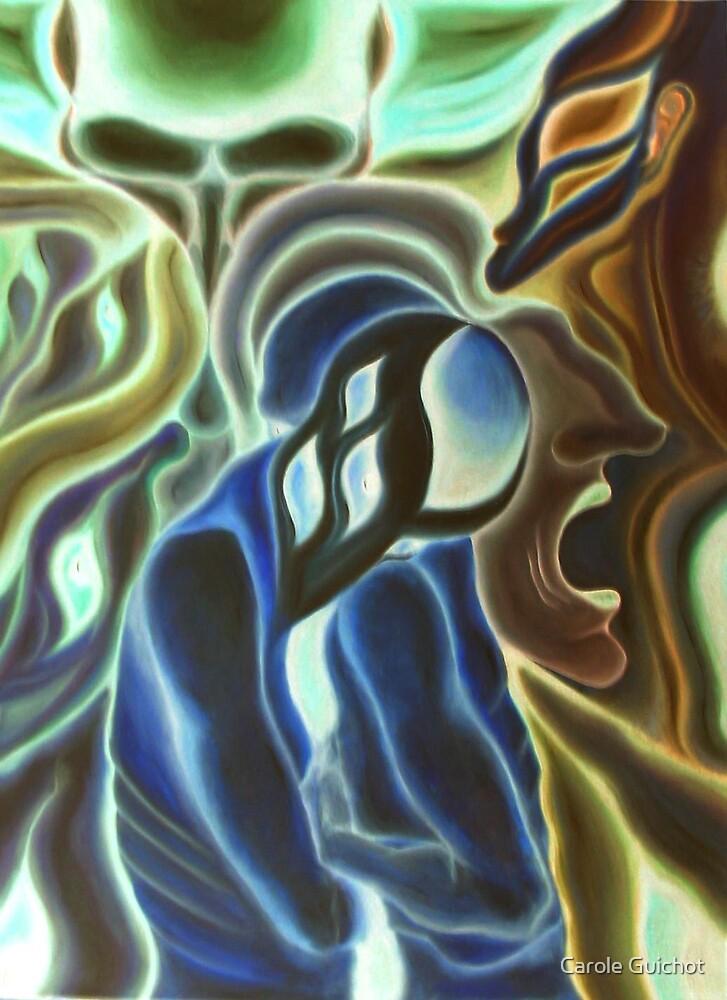 Vitrail chimérique b by Carole Guichot
